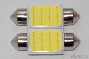 Лампы C5W 36 мм