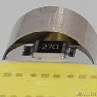 C5W резистор 27 Ом