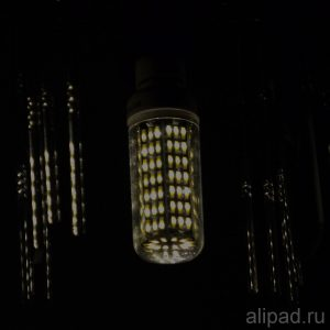 Свет выключенной лампы